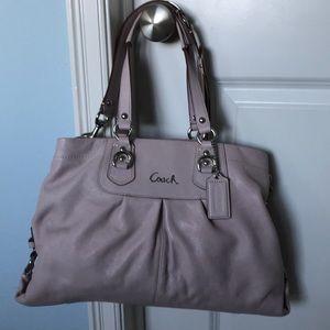 Coach convertible handbag lavender